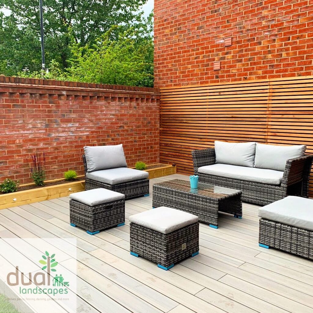 composite decking by dual landscapes coventry