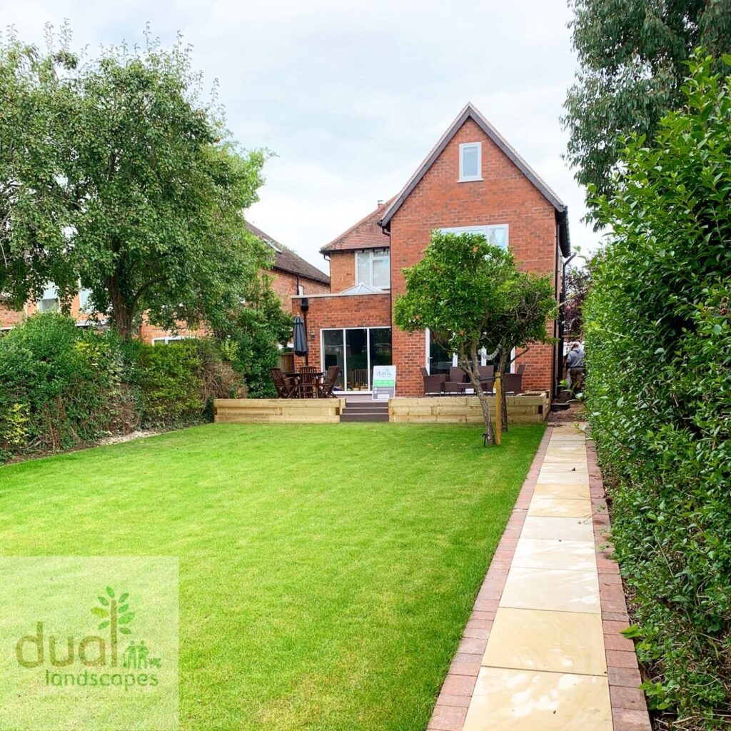 turf lawns by dual landscapes Coventry