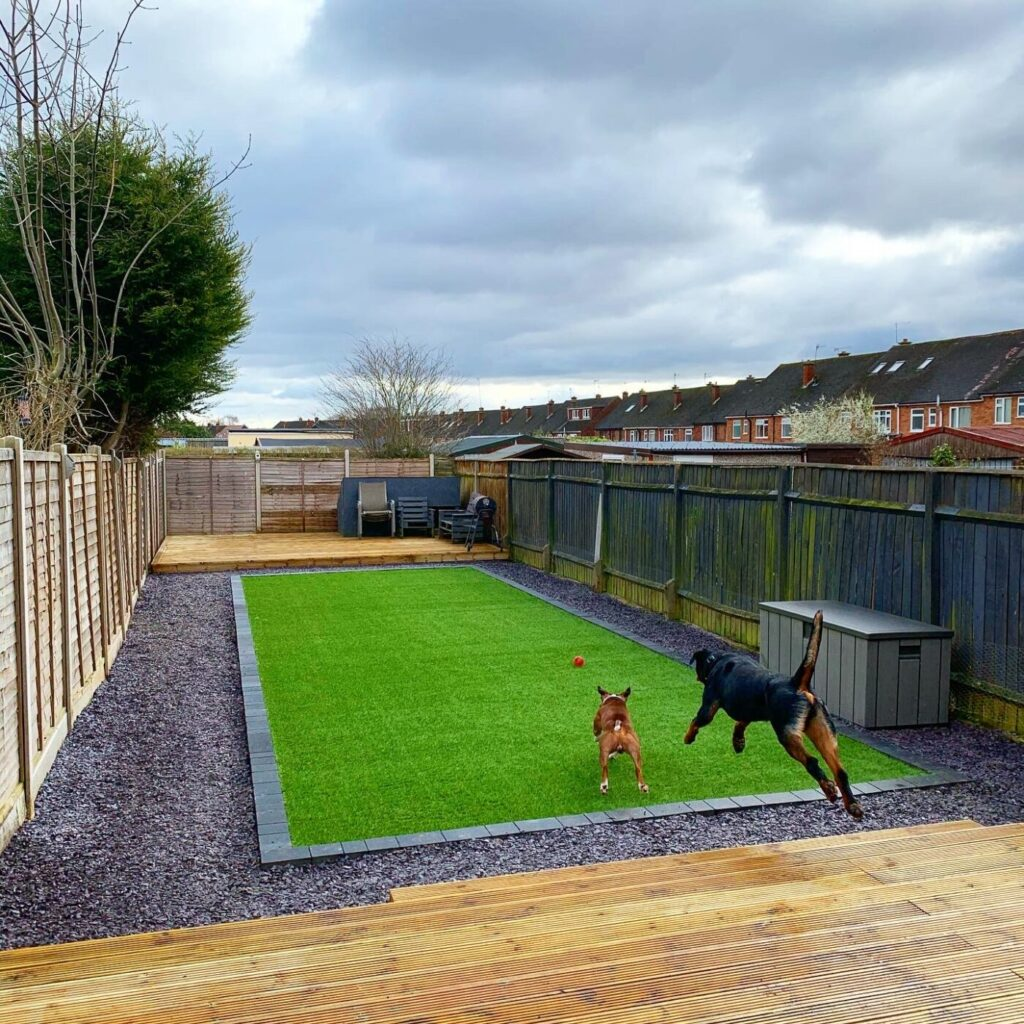 artificial lawns by dual landscaping Coventry